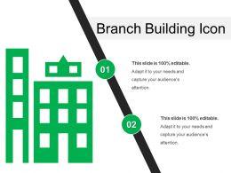 Branch Building Icon