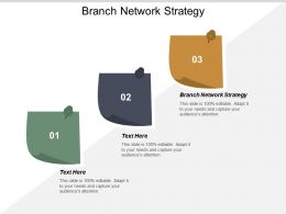 Branch Network Strategy Ppt Powerpoint Presentation Pictures File Formats Cpb