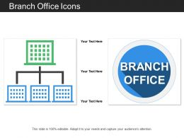 Branch Office Icons