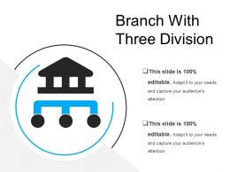 Branch With Three Division