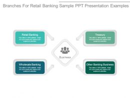 Branches For Retail Banking Sample Ppt Presentation Examples