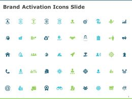Brand Activation Icons Slide Arrows Goal D61 Ppt Powerpoint Presentation Ideas Vector