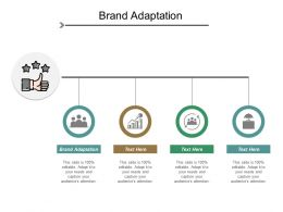 Brand Adaptation Ppt Powerpoint Presentation Layouts Slideshow Cpb
