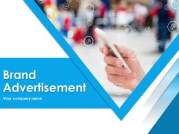 Brand Advertisement Powerpoint Presentation Slides