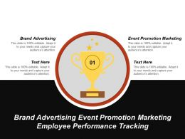 Brand Advertising Event Promotion Marketing Employee Performance Tracking