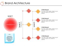 Brand Architecture Example Of Ppt
