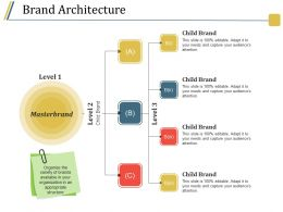 Brand Architecture Good Ppt Example