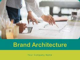 Brand Architecture Organisation Individual Allocation Structure Portfolio Distribution