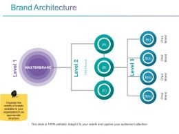 Brand Architecture Powerpoint Graphics