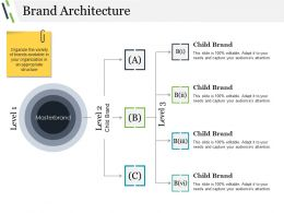 Brand Architecture Powerpoint Templates