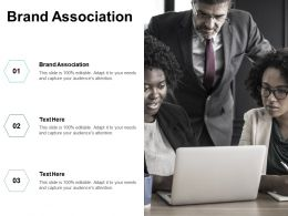 Brand Association Ppt Powerpoint Presentation File Example File Cpb