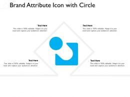 Brand Attribute Icon With Circle