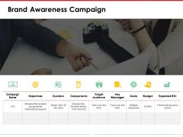 Brand Awareness Campaign Powerpoint Layout Templates 1
