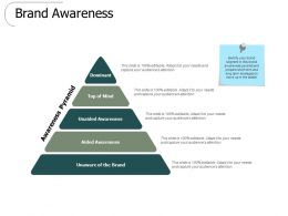 Brand Awareness Dominant Ppt Powerpoint Presentation Slides Summary