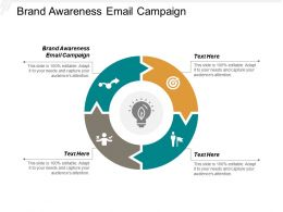 Brand Awareness Email Campaign Ppt Powerpoint Presentation File Designs Download Cpb