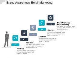 Brand Awareness Email Marketing Ppt Powerpoint Presentation Gallery Brochure Cpb
