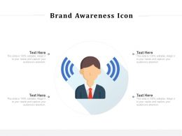 Brand Awareness Icon