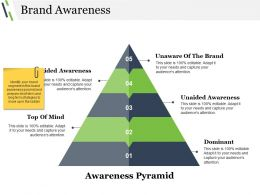 Brand Awareness Powerpoint Layout