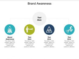 Brand Awareness Ppt Powerpoint Presentation Gallery Themes Cpb