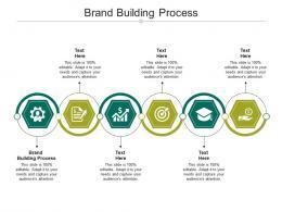 Brand Building Process Ppt Powerpoint Presentation Diagram Templates Cpb