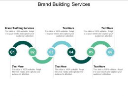 Brand Building Services Ppt Powerpoint Presentation Summary Graphics Pictures Cpb