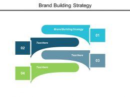 Brand Building Strategy Ppt Powerpoint Presentation Inspiration Skills Cpb