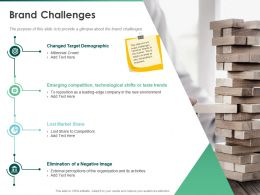 Brand Challenges Share Competitors Ppt Powerpoint Presentation Icon Ideas