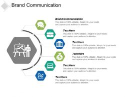 Brand Communication Ppt Powerpoint Presentation Pictures Elements Cpb