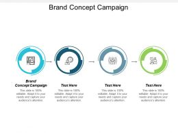 Brand Concept Campaign Ppt Powerpoint Presentation File Outline Cpb