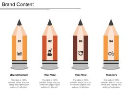 Brand Content Ppt Powerpoint Presentation File Structure Cpb