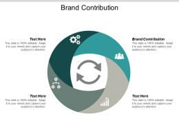 Brand Contribution Ppt Powerpoint Presentation Microsoft Cpb