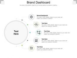 Brand Dashboard Ppt Powerpoint Presentation Show Graphics Tutorials Cpb