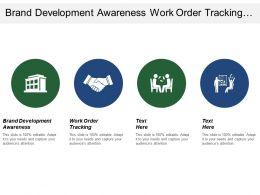 Brand Development Awareness Work Order Tracking Preventive Maintenance
