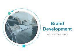 Brand Development Brand Positioning Product Development Market Penetration