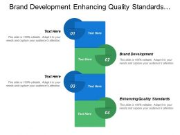 Brand Development Enhancing Quality Standards Business Innovation Design