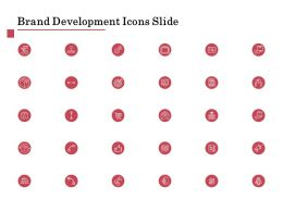 Brand Development Icons Slide L1258 Ppt Powerpoint Presentation Slides