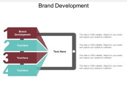 Brand Development Ppt Powerpoint Presentation File Visuals Cpb