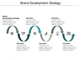 Brand Development Strategy Ppt Powerpoint Presentation Gallery Design Inspiration Cpb