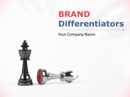 Brand Differentiators Powerpoint Presentation Slides