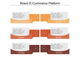 Brand E Commerce Platform Ppt Powerpoint Presentation File Examples Cpb