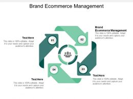 Brand Ecommerce Management Ppt Powerpoint Presentation File Sample Cpb