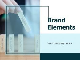 Brand Elements Powerpoint Presentation Slides