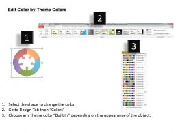 92418943 Style Linear Many-1 5 Piece Powerpoint Template Diagram Graphic Slide