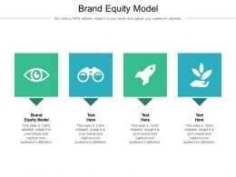 Brand Equity Model Ppt Powerpoint Presentation Icon Graphics Example Cpb