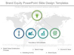 Brand Equity Powerpoint Slide Design Templates