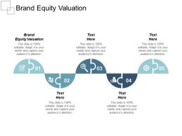 Brand Equity Valuation Ppt Powerpoint Presentation Gallery Topics Cpb