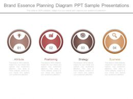 Brand Essence Planning Diagram Ppt Sample Presentations