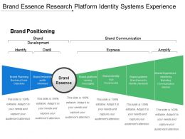 Brand Essence Research Platform Identity Systems Experience