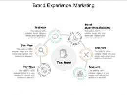 Brand Experience Marketing Ppt Powerpoint Presentation File Graphic Tips Cpb