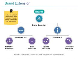 Brand Extension Powerpoint Slide Templates Download